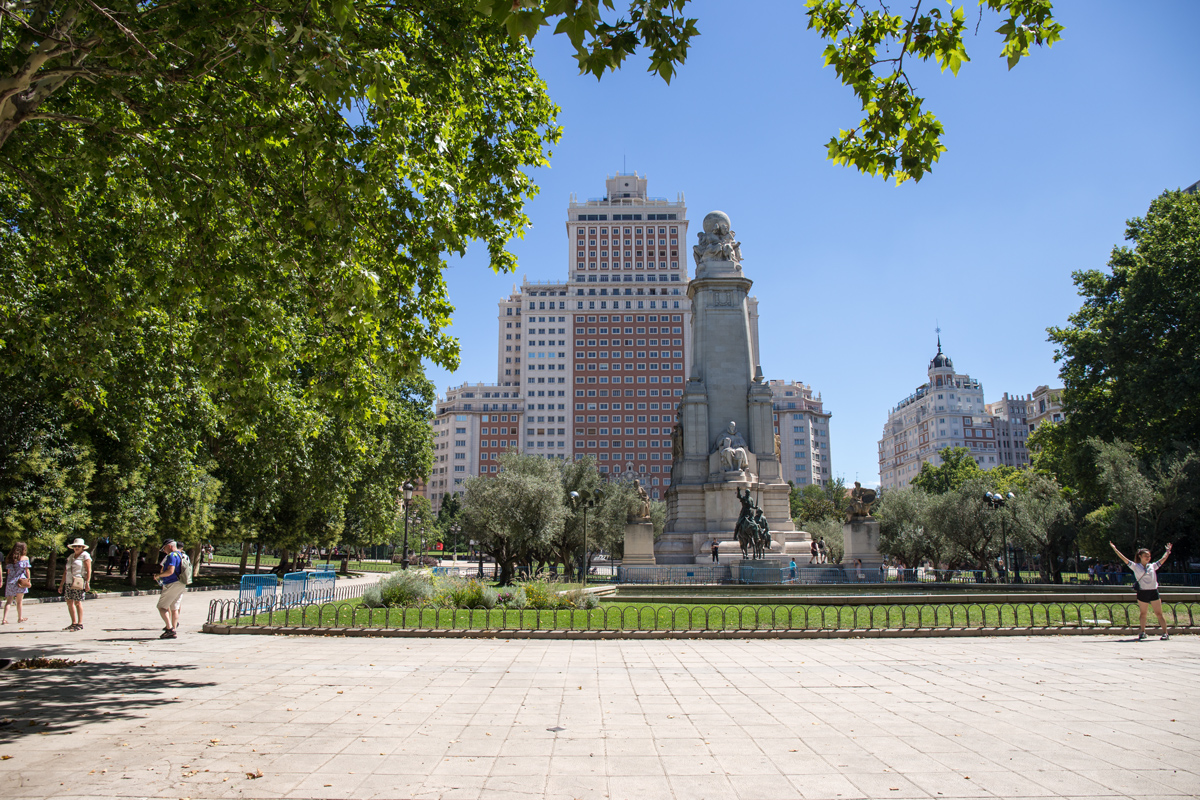 Plaza de Espana Madrid
