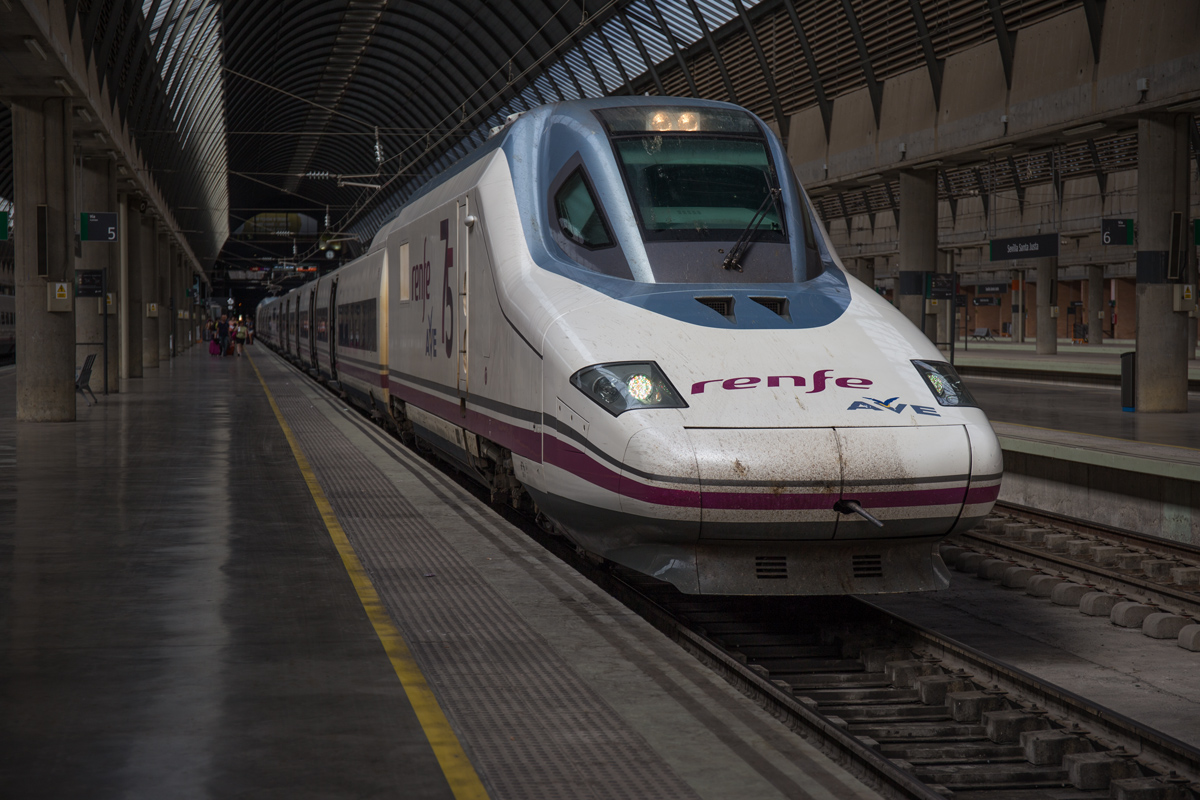 Renfe AVE at Sevilla station
