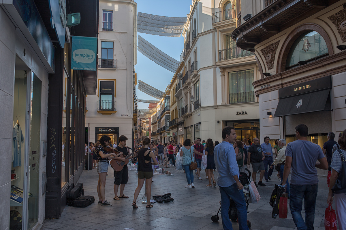 Shopping Street of Seville