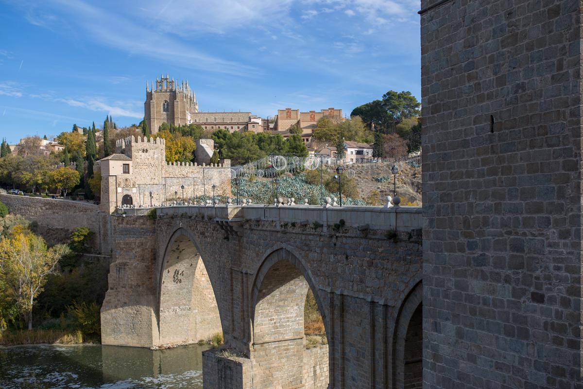 Puente de San Martin Toledo
