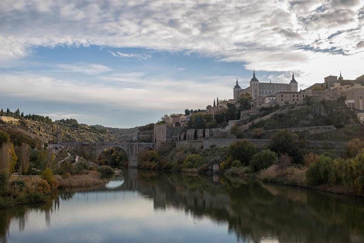 Toledo view from Puente de Azarquiel