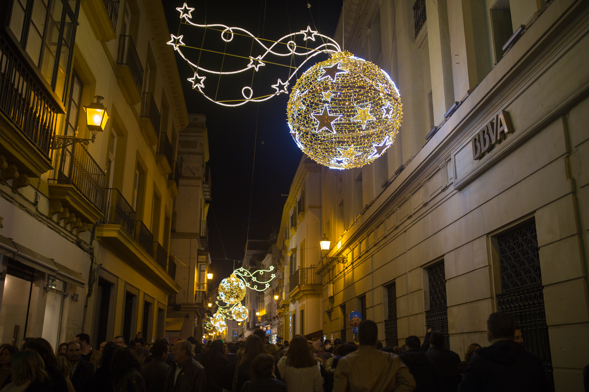 Winter Illumination Seville