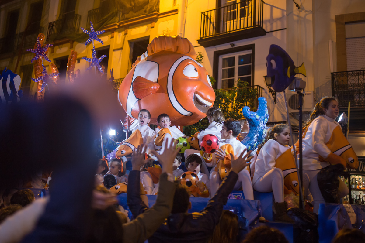 Epiphany Reyes Parade Seville Spain