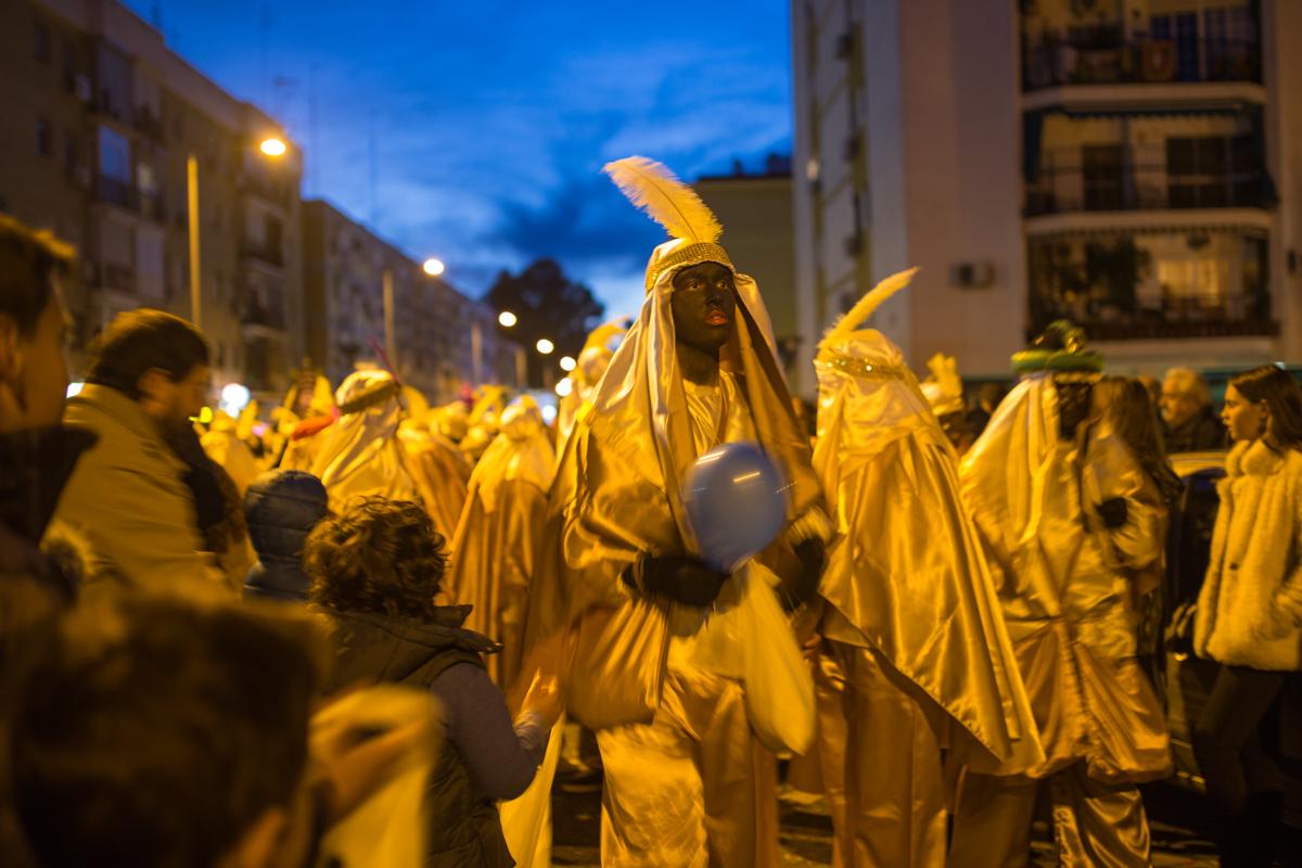 Reyes parade Seville