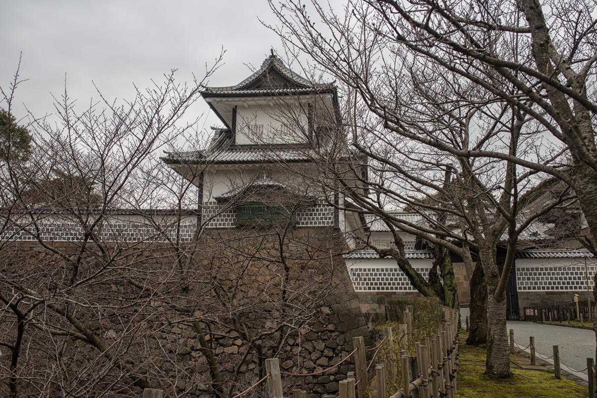 Kanazawa Castle Park Ishikawa Gate