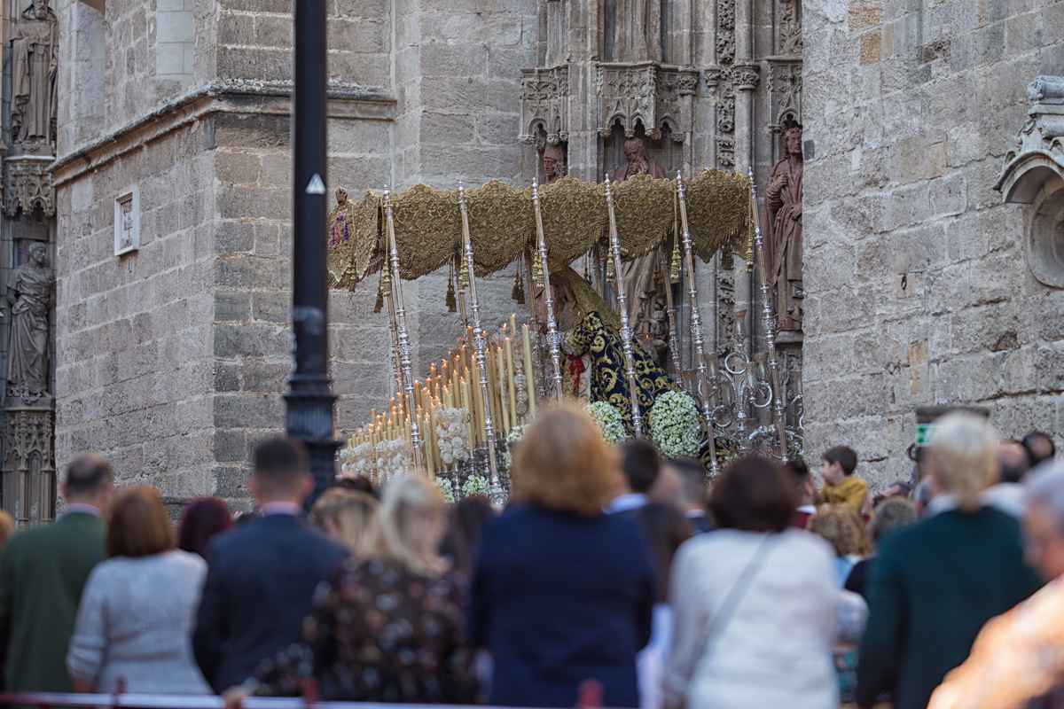 Seville Cathedral in Semana Santa