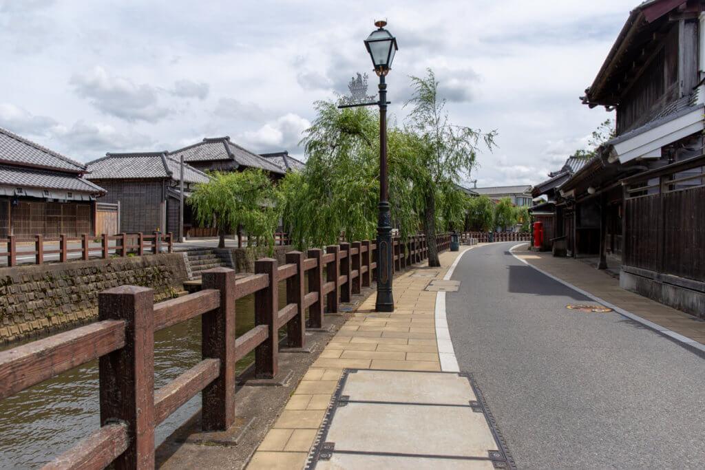 Sawara Old Town View