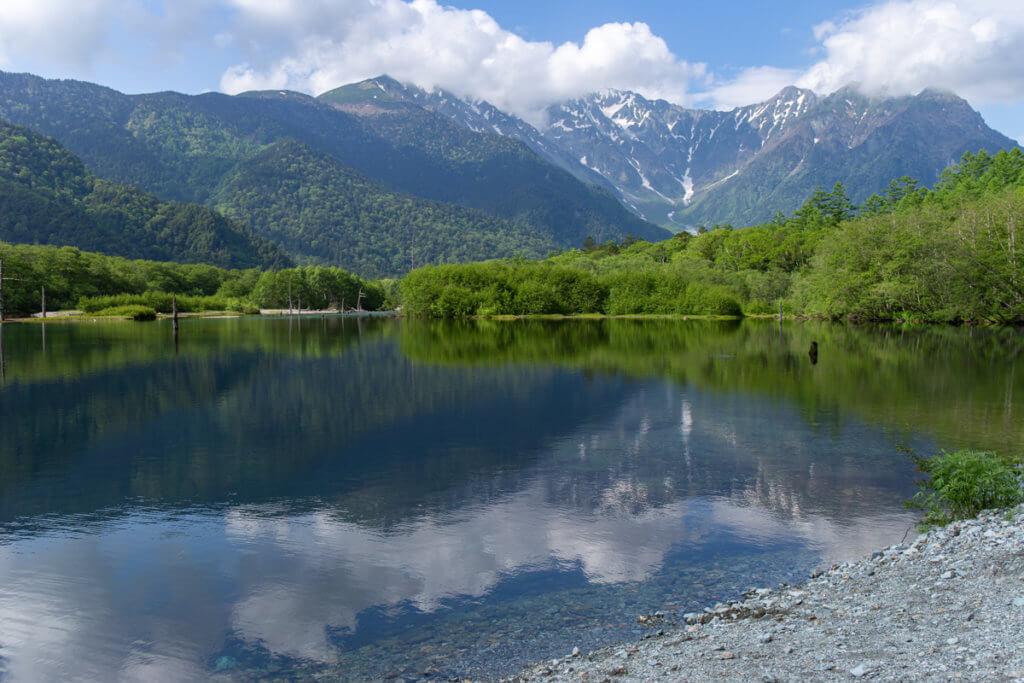 Taishoike Pond Kamikochi