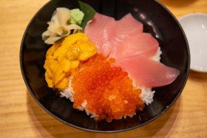 Sanshokudon Tsukiji Itadori