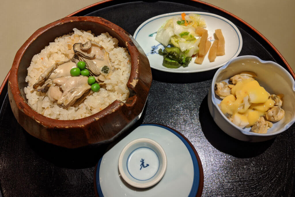 Nabana no Sato Food